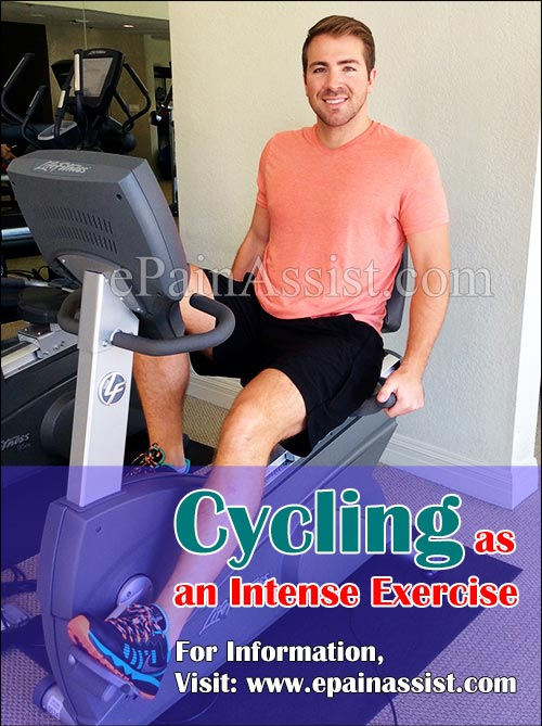 Cycling as an Intense Exercise