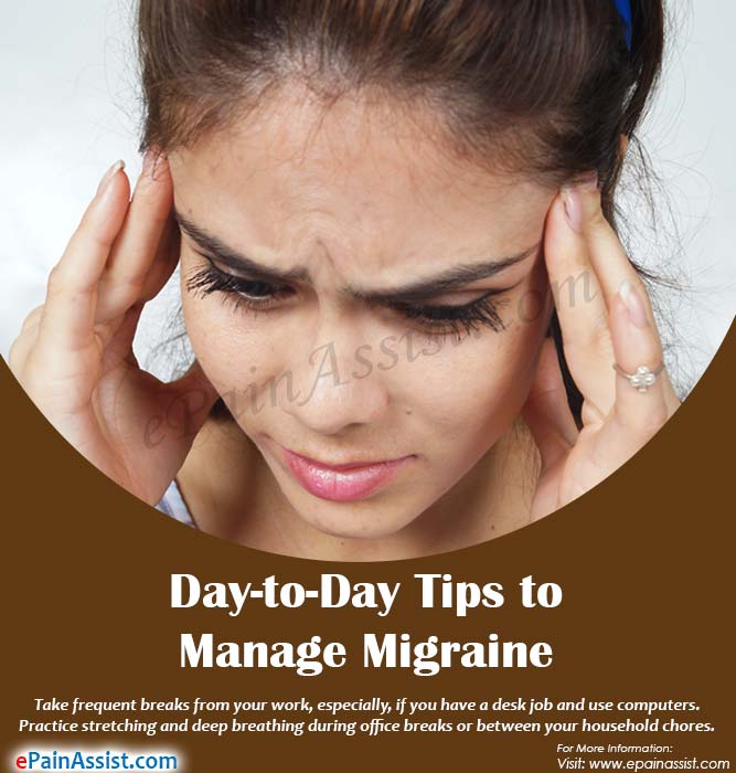 Day-to-Day Tips to Manage Migraine