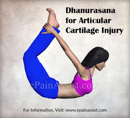 Dhanurasana for Articular Cartilage Injury