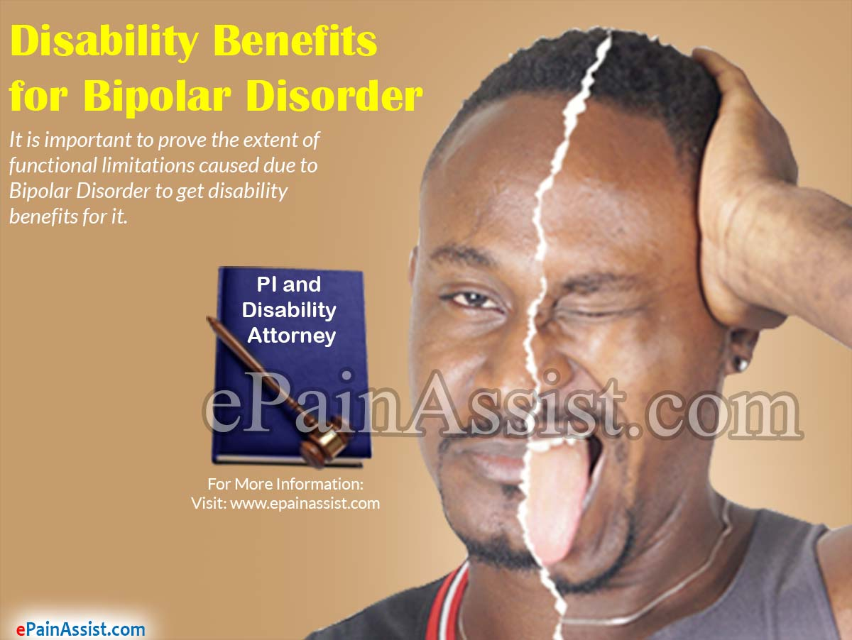 Disability Benefits for Bipolar Disorder