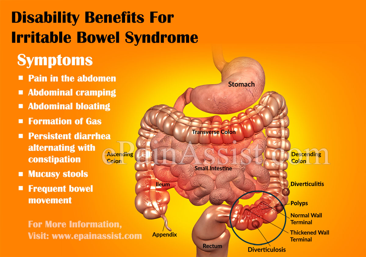 Terrific Disability Benefits For Irritable Bowel Syndrome Customarchery Wood Chair Design Ideas Customarcherynet