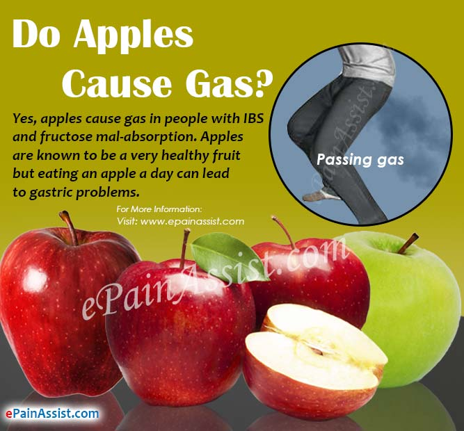 Do Apples Cause Gas?