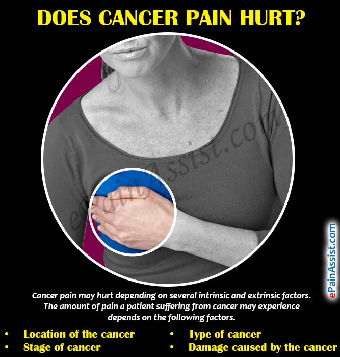 Does Cancer Pain Hurt?