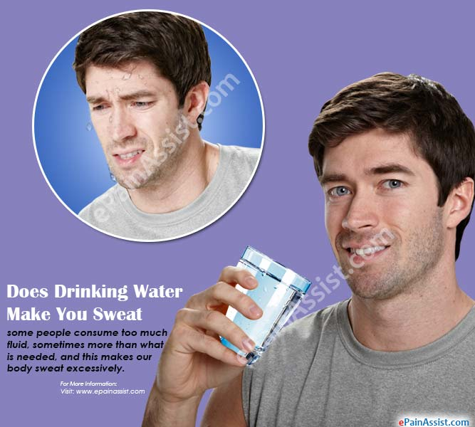 Does Drinking Water Make You Sweat More?