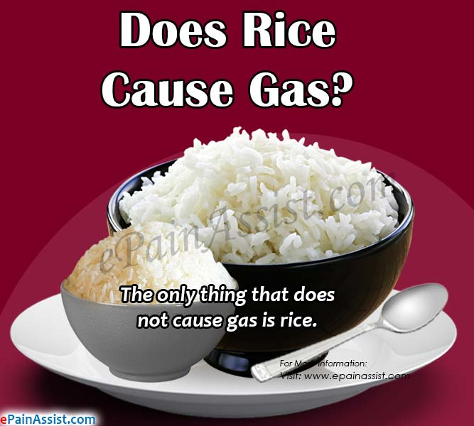 Does Rice Cause Gas?