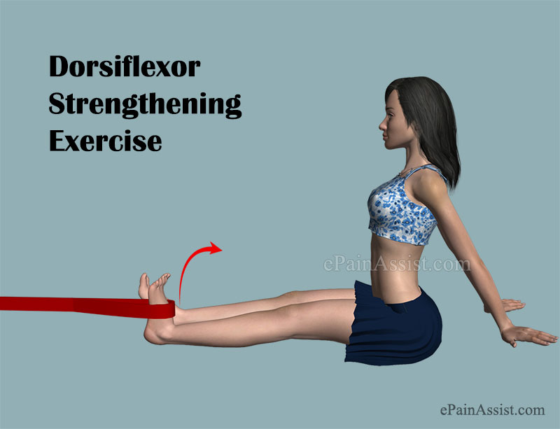 Dorsiflexor Strengthening Exercise for Ankle Impingement