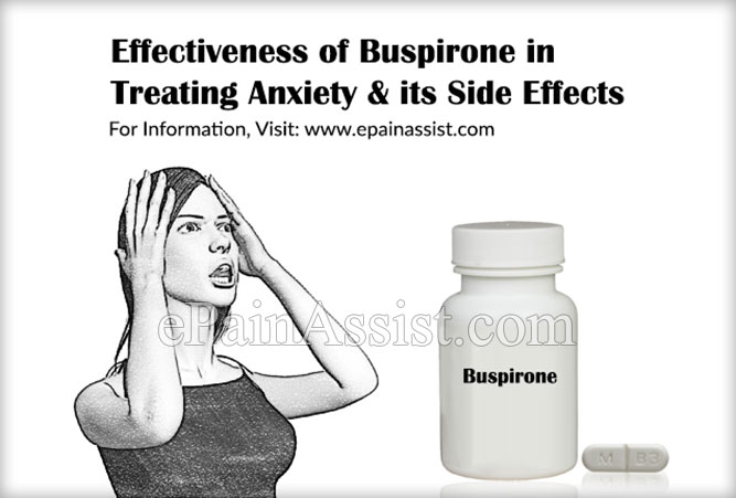 Effectiveness of Buspirone in Treating Anxiety & its Side Effects
