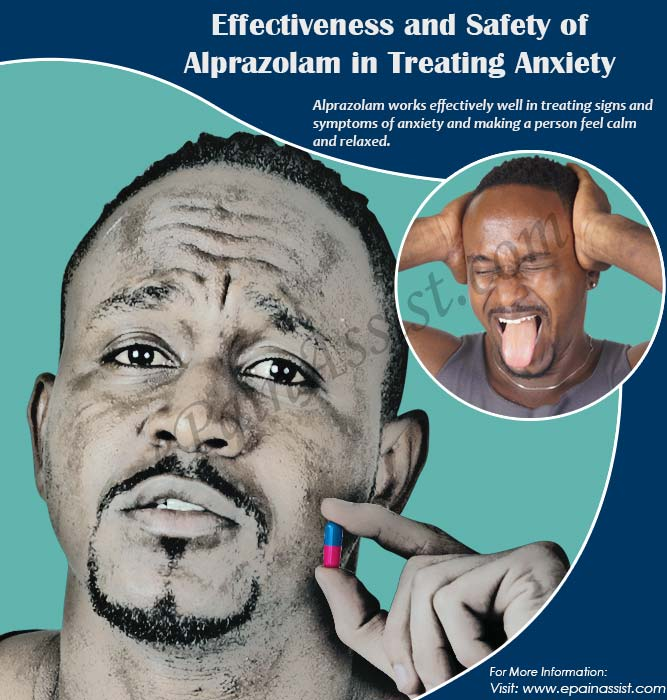 Effectiveness and Safety of Alprazolam in Treating Anxiety