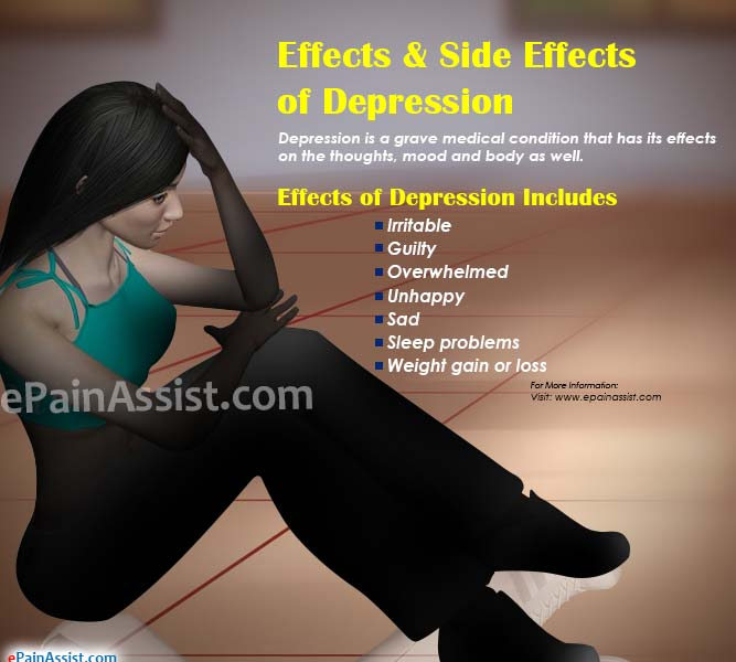 Effects & Side Effects of Depression