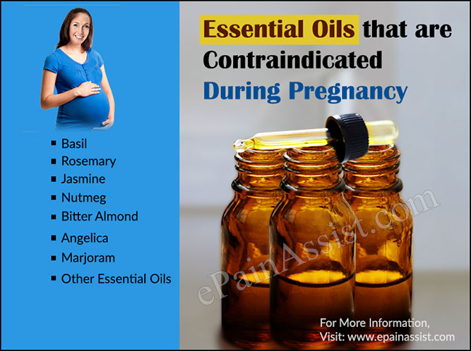 Essential Oils that are Contraindicated during Pregnancy
