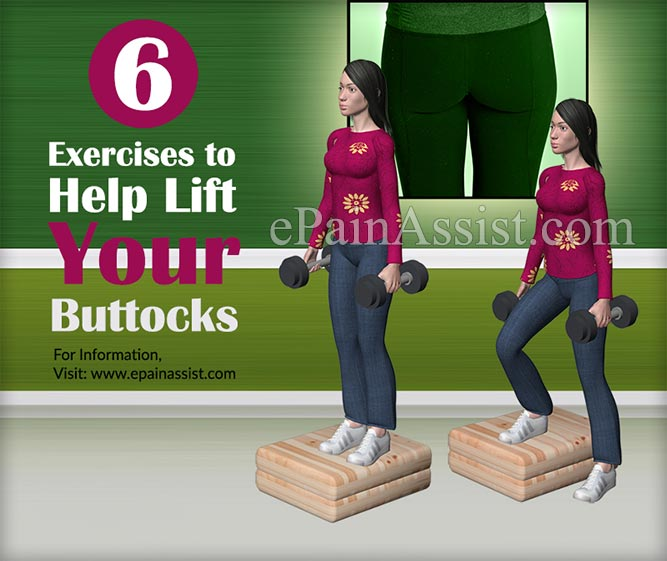 Exercises to Help Lift Your Buttocks
