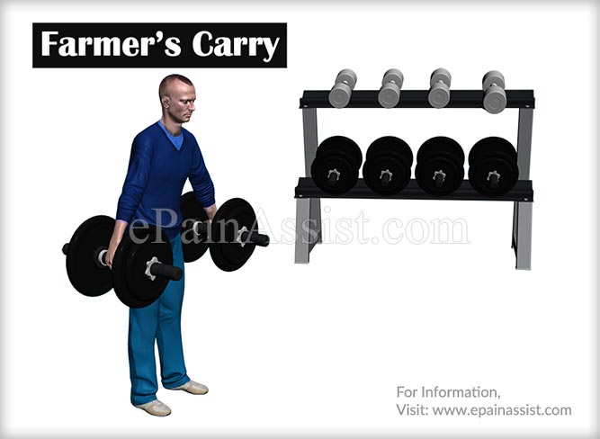 Farmer's Carry Exercises to Increase Forearm Size