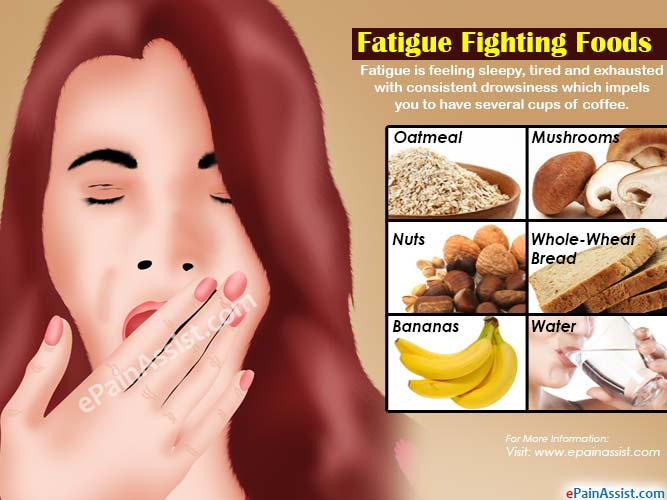 Fatigue Fighting Foods