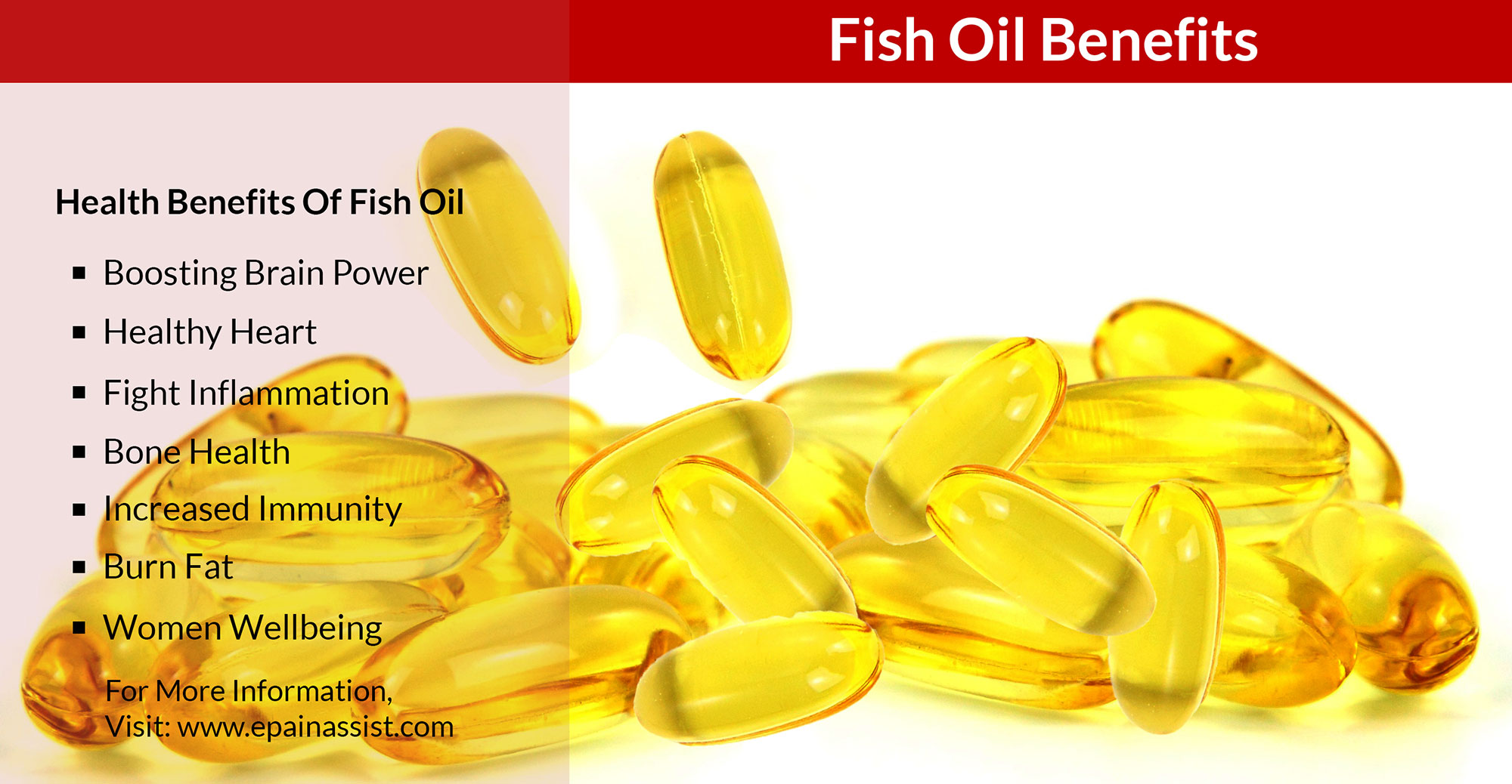 Fish oil benefits boosts brain power healthy heart fights for Side effects of fish oil supplements