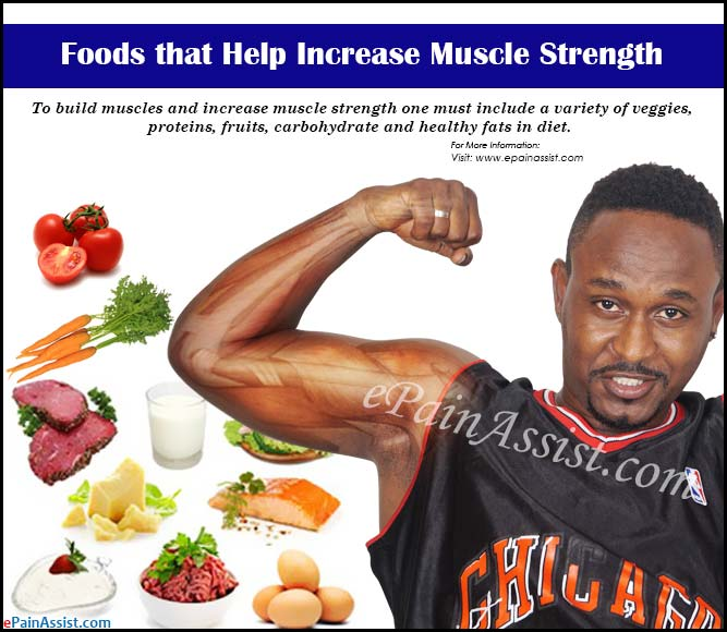 Foods That Help Increase Muscle Strength