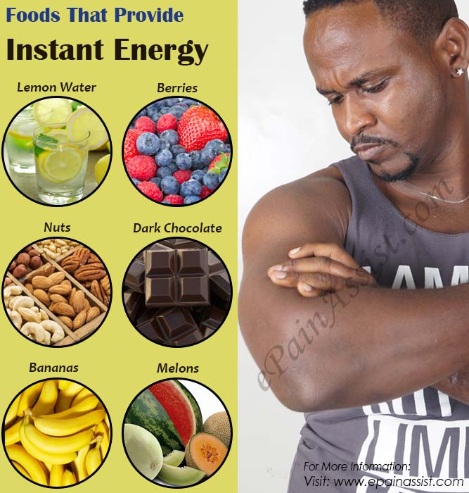 Foods That Provide Instant Energy