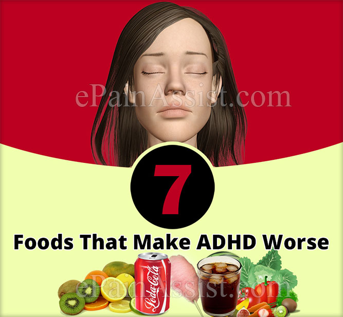 7 Foods That Make ADHD Worse