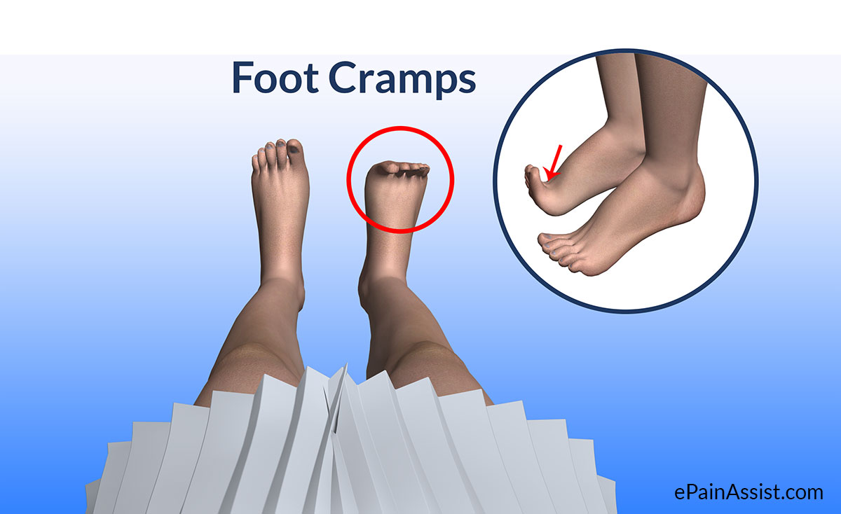 How to get rid of leg and foot cramps at night