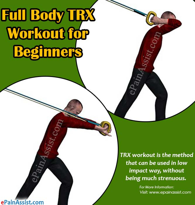 Full Body TRX Workout for Beginners