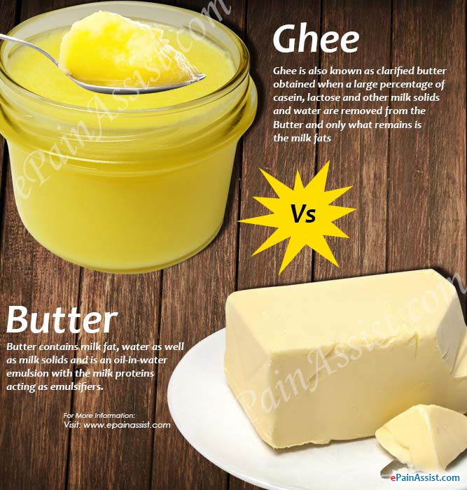 Ghee Vs Butter