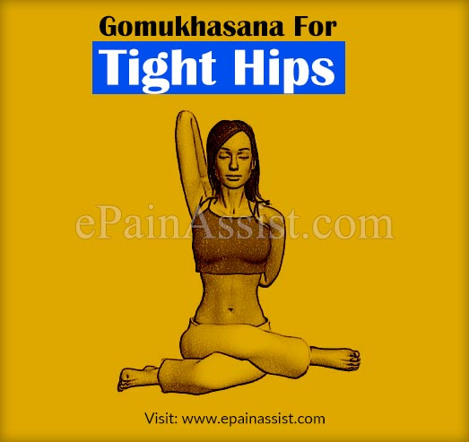Gomukhasana or Cow-faced Yoga Pose for Tight Hips