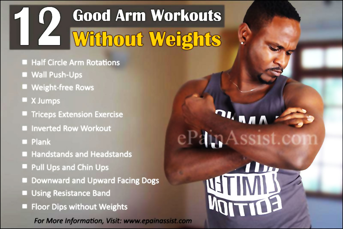 Good Arm Workouts Without Weights Preview