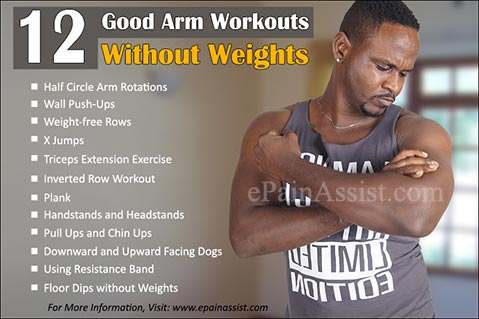 Good Arm Workouts Without Weights