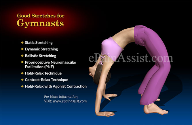 Good Stretches for Gymnasts