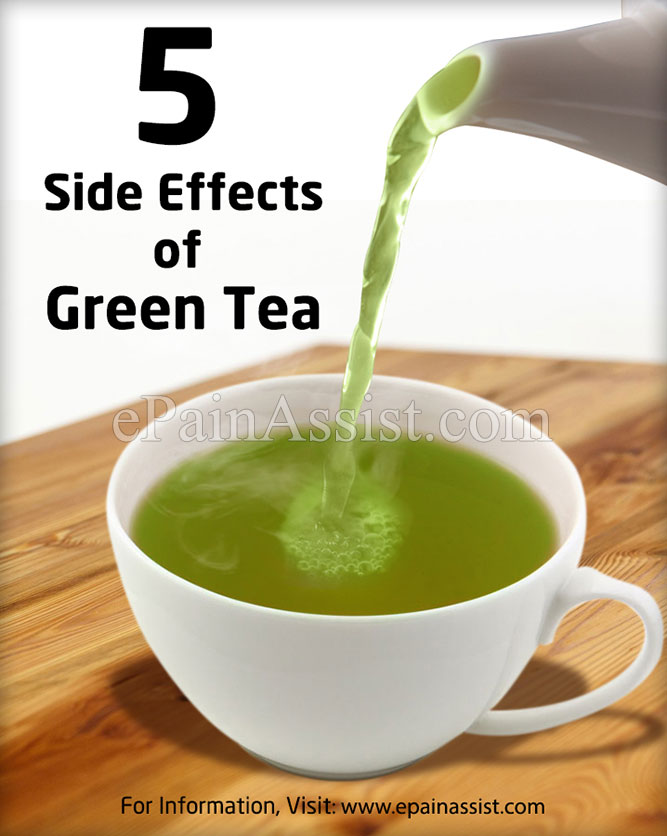 Green Tea - Side Effects