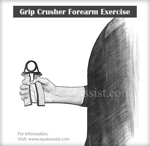 Grip Crusher Forearm Exercise