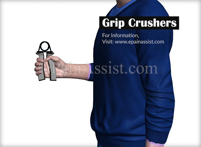 Grip Crushers Exercises to Increase Forearm Size