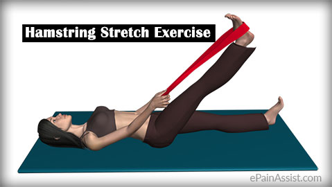 Hamstring Stretch Exercise for Articular Cartilage Injury