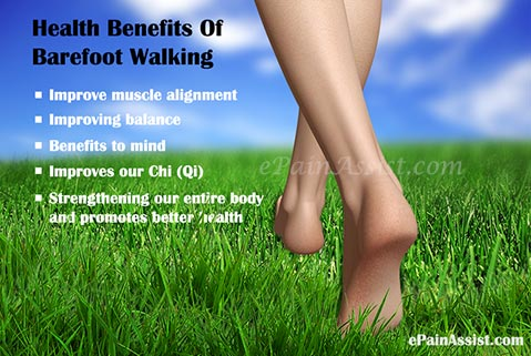 Health Benefits Of Barefoot Walking
