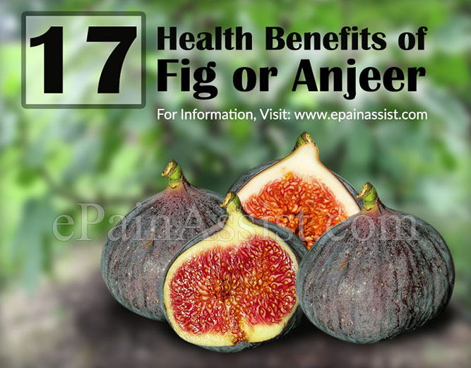 Health Benefits of Fig or Anjeer