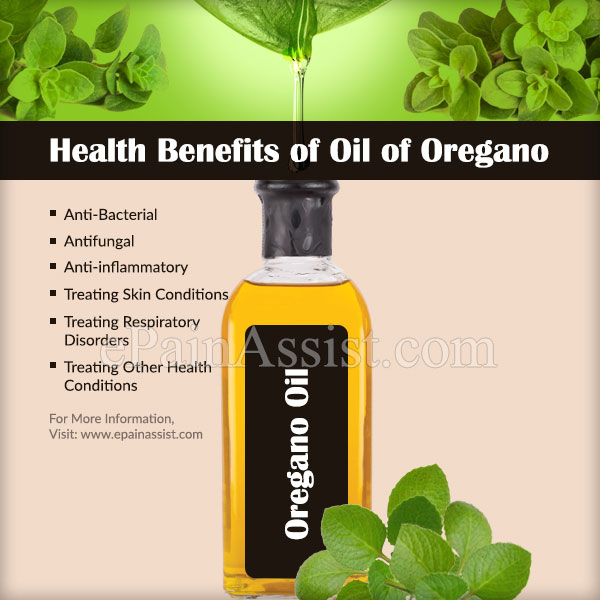 Health Benefits of Oil of Oregano