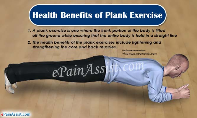 Health Benefits of Plank Exercise