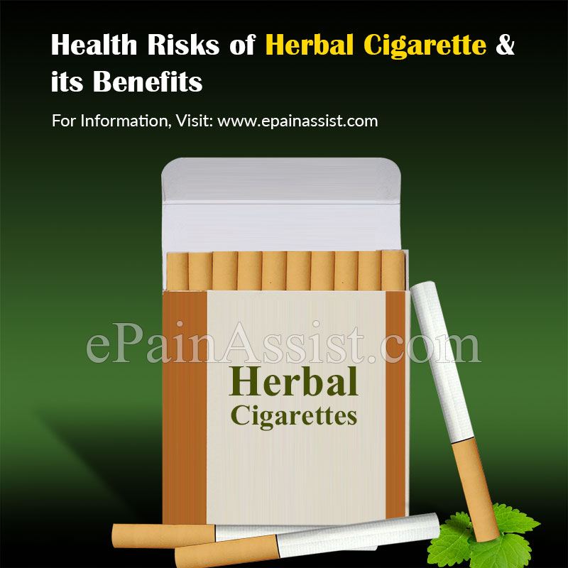 Health Risks of Herbal Cigarette & its Benefits