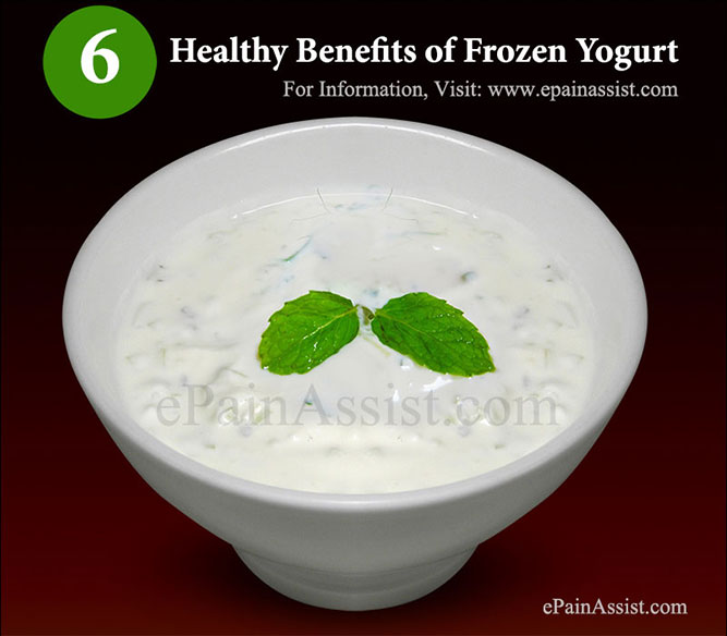 Is Frozen Yogurt Healthy?; Healthy Benefits of Frozen Yogurt!