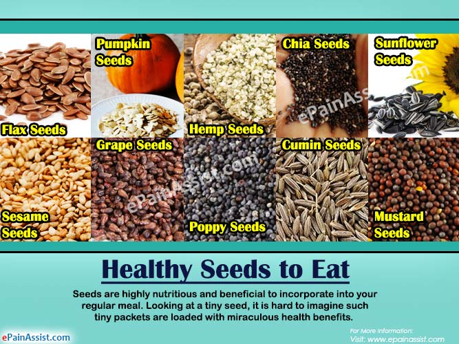 Healthy Seeds to Eat: 10 Seeds to Include in the Diet For Good Health