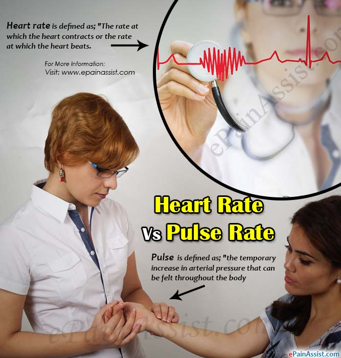 Heart Rate Vs Pulse
