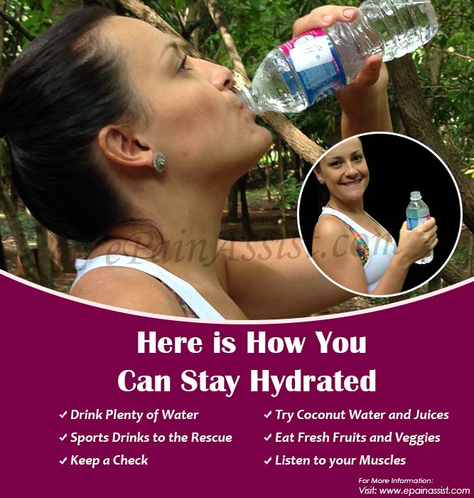 Here is How You Can Stay Hydrated