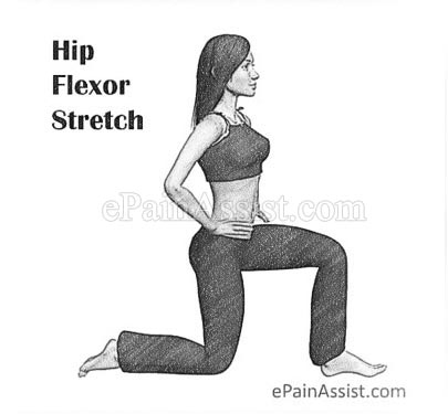 Hip Flexor Stretch Exercises for Lordosis