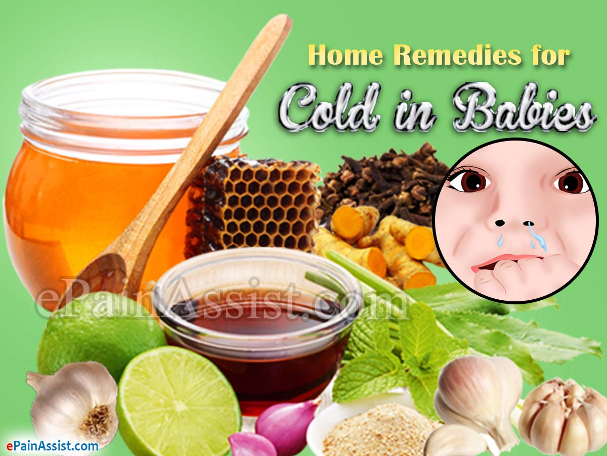 Home Remedies for Cold in Babies