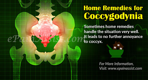 Home Remedies for Coccygodynia or Coccygeal Pain