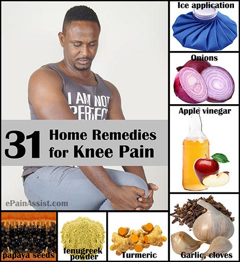 Home Remedies for Knee Pain!