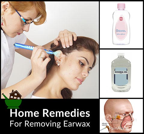 Home Remedies For Removing Earwax!