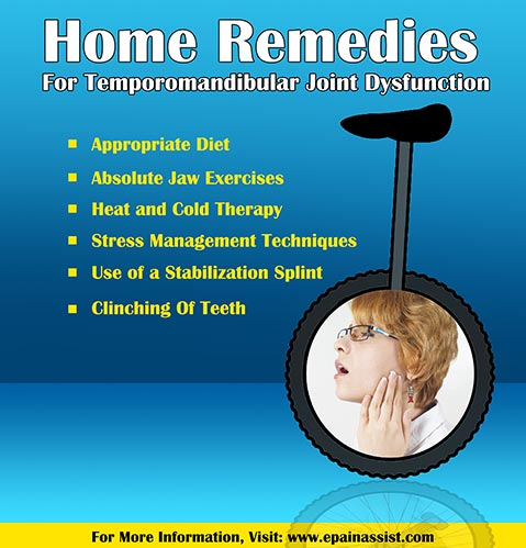 Home Remedies For Temporomandibular Joint Dysfunction!
