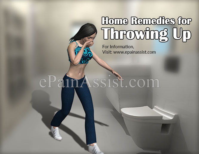 Home Remedies for Throwing Up