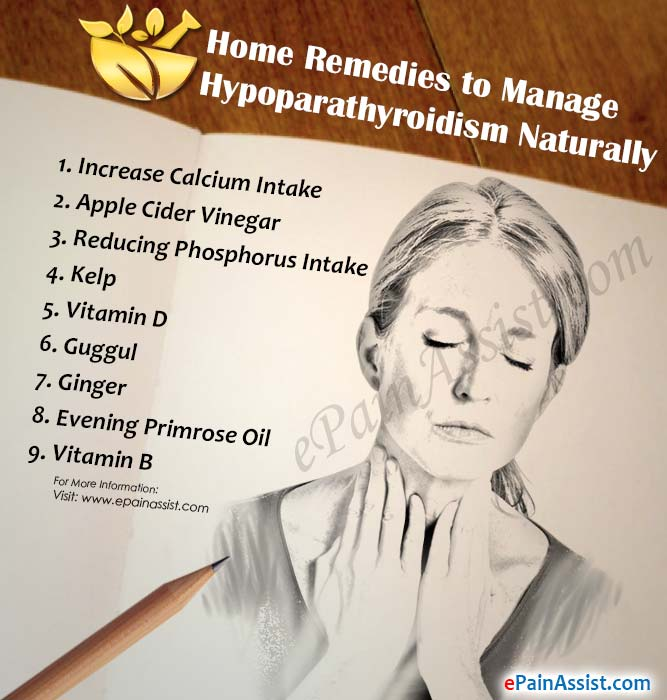 Home Remedies to Manage Hypoparathyroidism Naturally