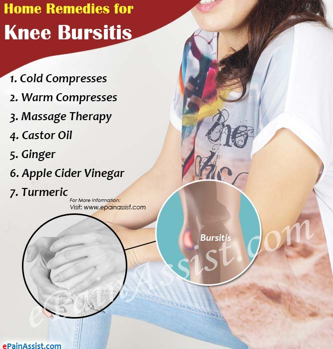 Home Remedies for Knee Bursitis